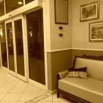 Ingresso - Hotel Innocenti (seppia)