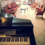 Salottino con Pianoforte - Hotel Innocenti